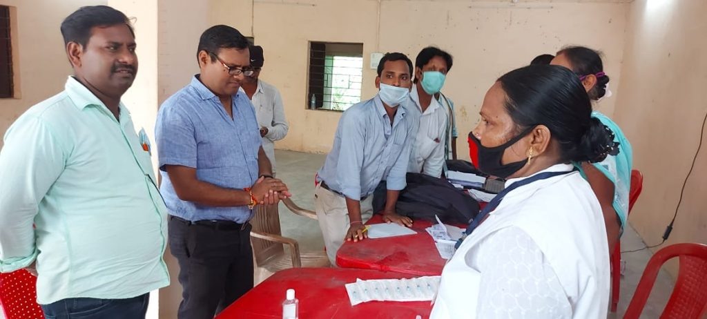 Vaccination Camps In Mokama